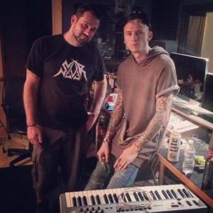 Ben Schigel and Machine Gun Kelly Spider Studios