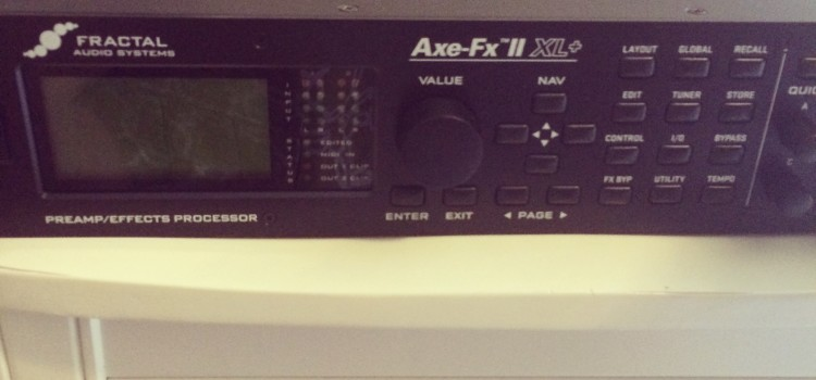 TWEAKIN' THE AXE FX II XL+